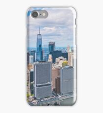 NYC Manhattan Aerial View iPhone Case/Skin