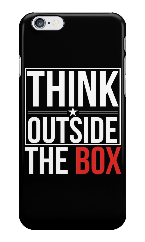 printing pictures from iphone quot think outside the box quot iphone cases amp skins by stav b 9462