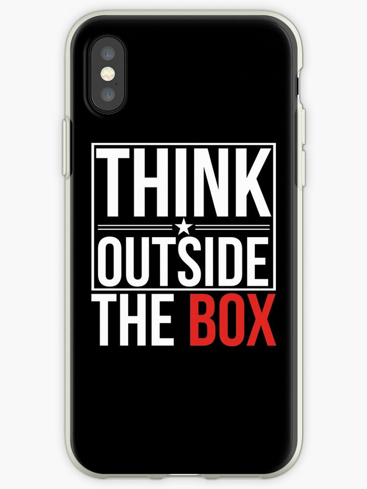 THINK OUTSIDE THE BOX by Stav B.