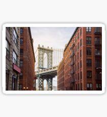 NYC Manhattan Bridge Sticker
