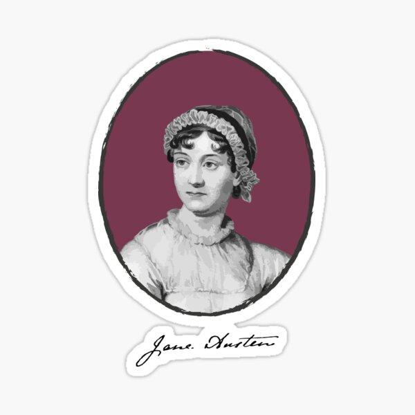 Authors - Jane Austen  Sticker
