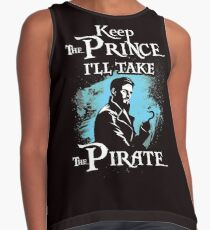 Keep The Prince, I'll Take The Pirate Contrast Tank