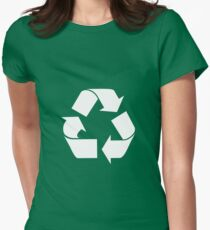 Recycled Women's Fitted T-Shirt