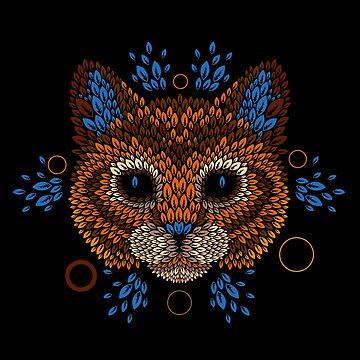 Cara de gato de Letter-Q