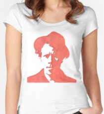 NEW Shadows of Tom Waits Women's Fitted Scoop T-Shirt