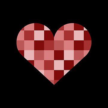 Pixel Heart by tanzelt