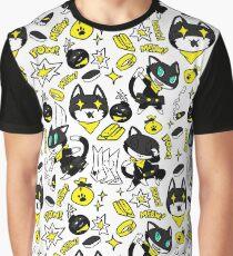 Morgana Treasure Pattern Graphic T-Shirt