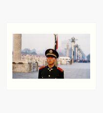 standing guard Art Print