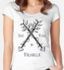 Valhalla  Women's Fitted Scoop T-Shirt