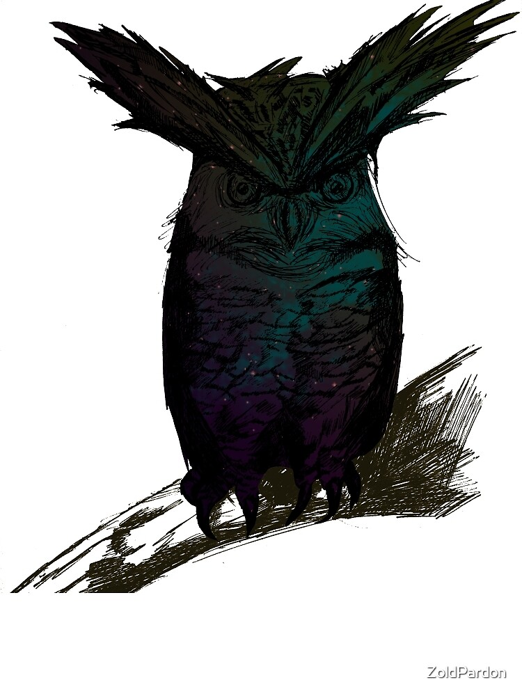 old wise owl by ZoldPardon