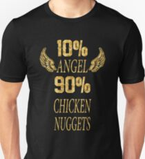 10% angle 90% chicken nuggets Unisex T-Shirt
