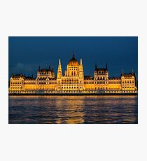 Budapest Parliament Building Photographic Print