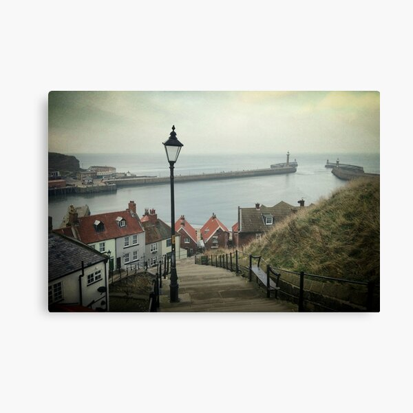 Vintage Whitby Canvas Print