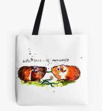 Well this is Awkward Tote Bag