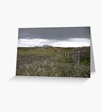 The fields of Iceland Greeting Card