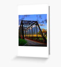 Hanalei Bridge Greeting Card
