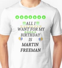 Birthday Freeman Unisex T-Shirt