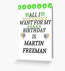 Birthday Freeman Greeting Card