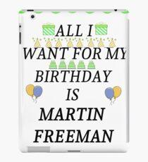 Birthday Freeman iPad Case/Skin
