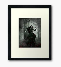 Last time I comitted suicide Framed Print