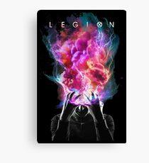 legion brain Canvas Print
