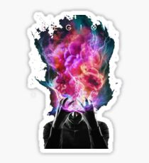 legion brain Sticker