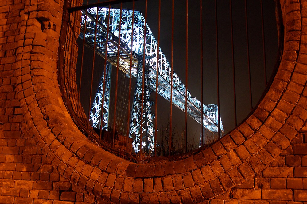 Middlesbrough Transporter Bridge by phildevy