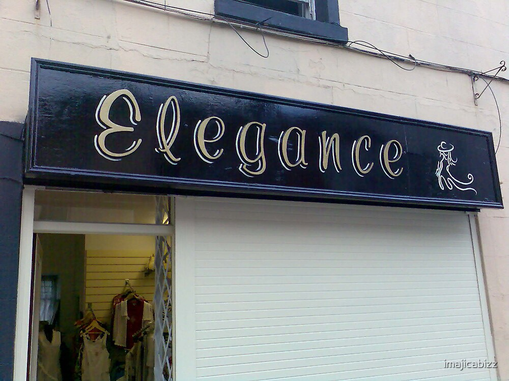 elegance boutique sign by imajicabizz