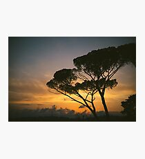 Sunset in Rome Photographic Print
