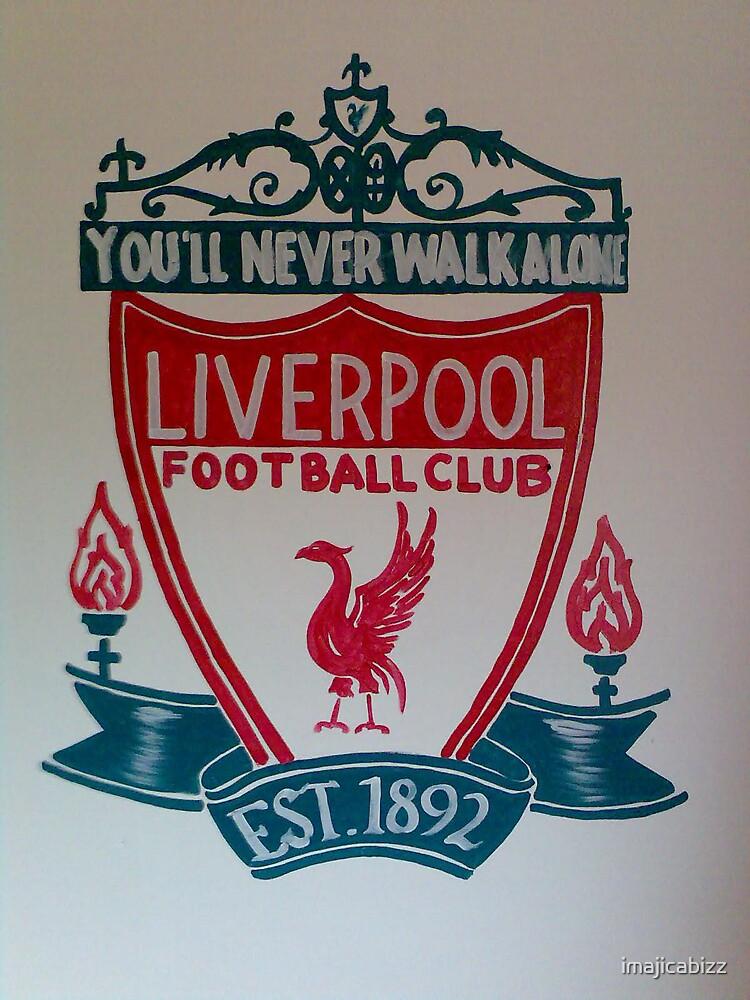 liverpool logo on wall by imajicabizz