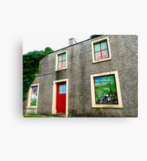 Painted Windows, Donegal, Ireland Canvas Print