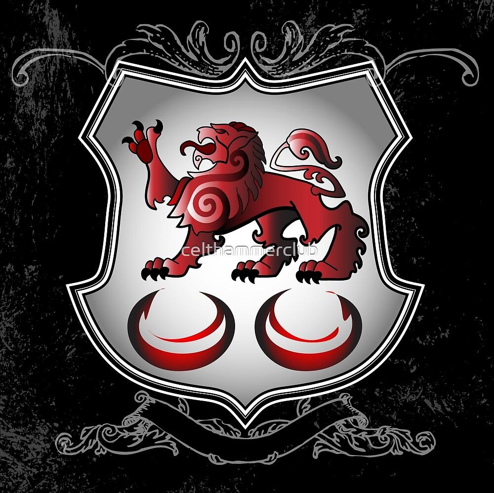 Clan Caomhánach (Kavanagh) Family Crest by celthammerclub