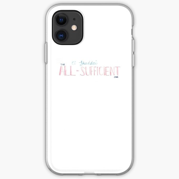 Names of God | El Shaddai iPhone Soft Case