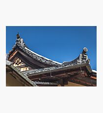 Traditional Japanese Rooftops Photographic Print