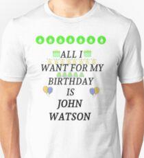Birthday John Watson Unisex T-Shirt