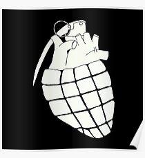 Heart Grenade Poster