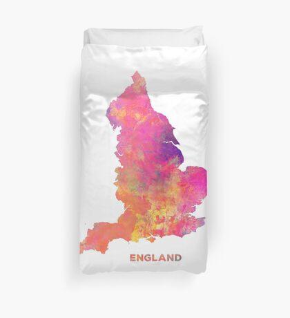 England map #england #map #englandmap Duvet Cover