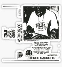 DJ SCREW - FEEL MY PAIN  Sticker