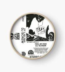 DJ SCREW - FEEL MY PAIN  Clock