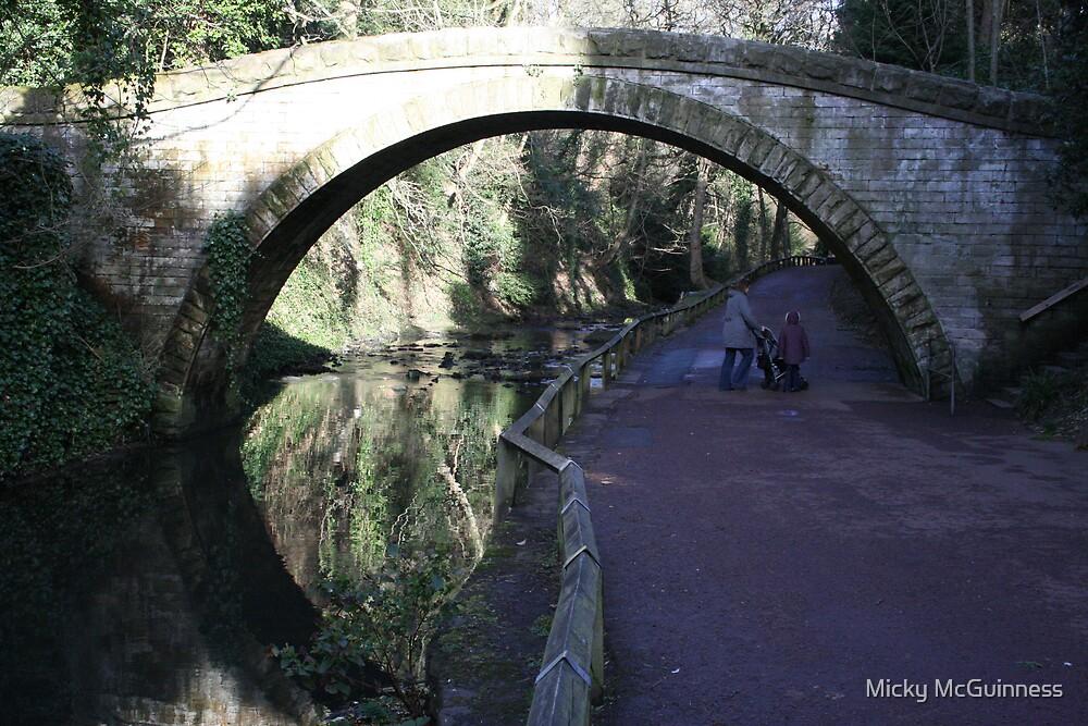 Bridge in the Dene by Micky McGuinness