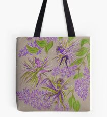 french lilacs Tote Bag