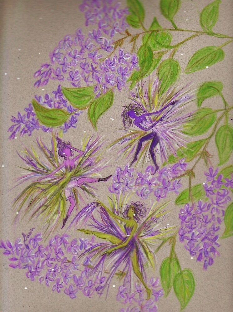 french lilacs by DawnFairies