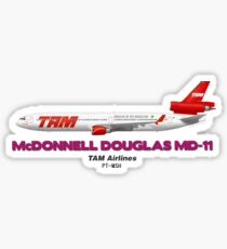 McDonnell Douglas MD-11 - TAM Airlines Sticker
