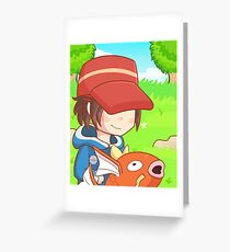 magikarp jump Greeting Card