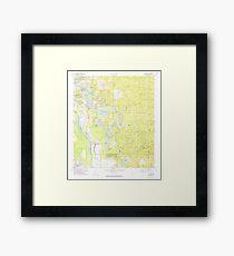 USGS TOPO Map Florida FL Lake Mary 347075 1972 24000 Framed Print