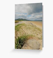 Lisfannon Beach Donegal..........................Ireland Greeting Card