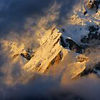 Evening, Annapurna South by Harry Oldmeadow