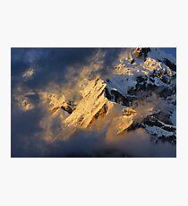 Evening, Annapurna South Photographic Print