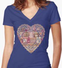 Mark Ryden Women's Fitted V-Neck T-Shirt