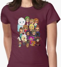 All the Chibis Womens Fitted T-Shirt